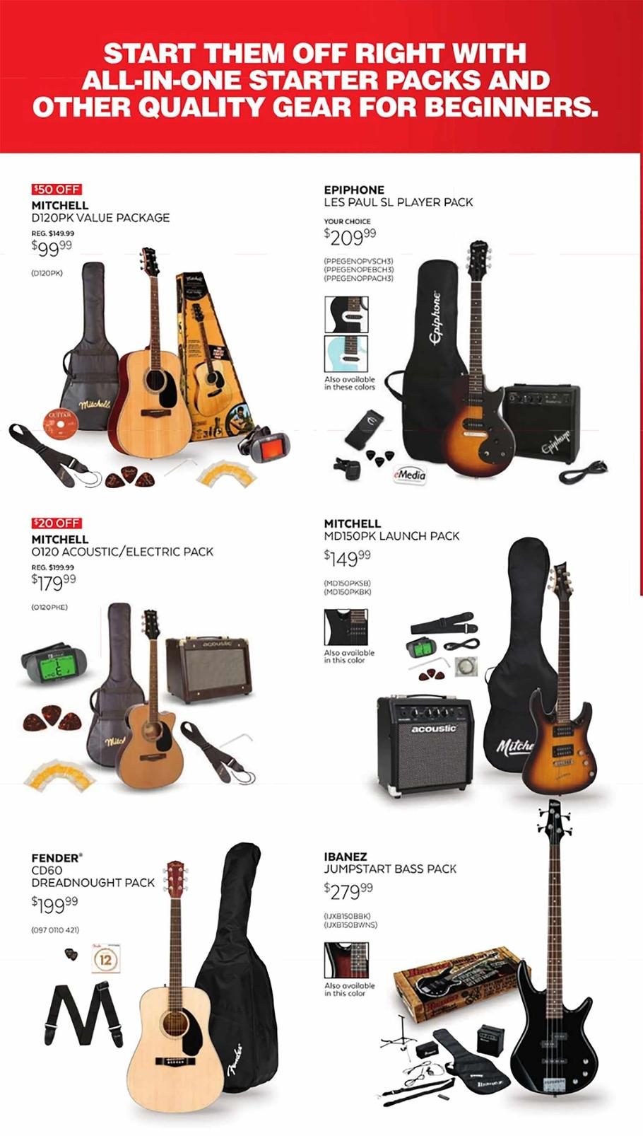 Guitar Center Holiday Catalog page 3